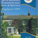 WHERE TO STAY B AND B FARMHOUSE INN England 1994