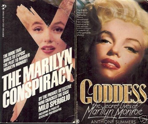 MARILYN MONROE SECRET LIFE LOT OF 2 BOOKS