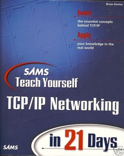 SAMS TEACH YOURSELF TCP IP NETWORKING