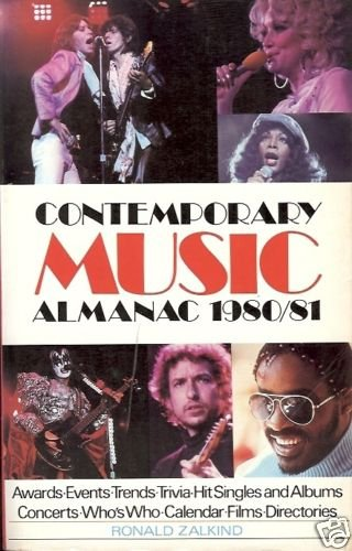 CONTEMPORARY MUSIC ALMANAC 1980/81 awards-events-trends