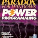 PARADOX FOR WINDOWS POWER PROGRAMMING 1993