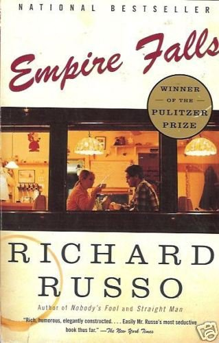 EMPIRE FALLS By Richard Russo national bestseller