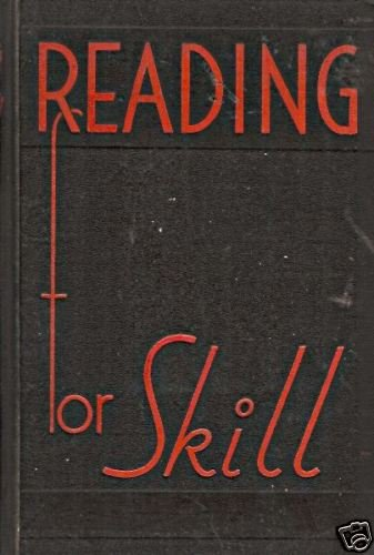 READING FOR SKILL practice exercises for remedial 1936