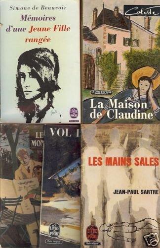 LA MAISON DE CLAUDINE LOT OF  5 FRENCH BOOKS