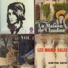 LA MAISON DE CLAUDINE LOT OF  5 FRENCH BOOKS