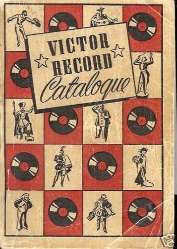 VICTOR RECORD CATALOGUE 1939 TO 1940