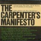THE CARPENTER'S MANIFESTO 1977 Ehrlich Mannheimer