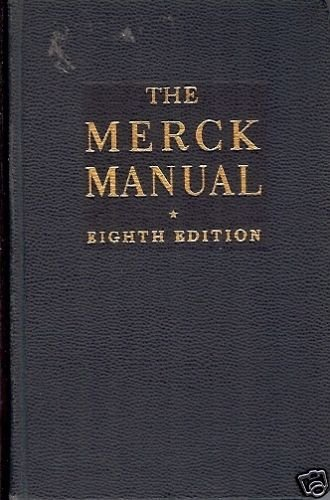 THE MERCK MANUAL EIGHTH EDITION