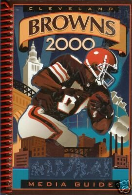 CLEVELAND BROWNS 2000 media guide
