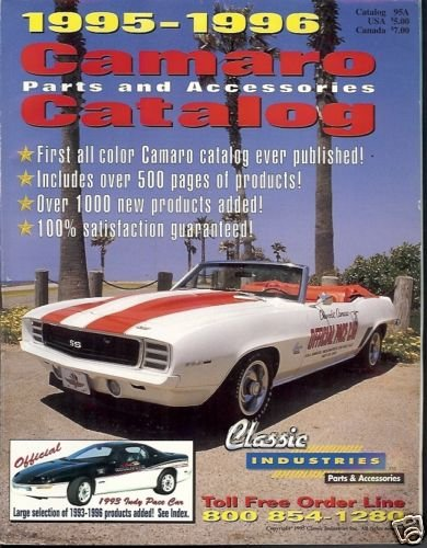1995-1996 CAMARO PARTS & ACCESSORIES CATALOG
