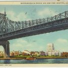 QUEENSBOROUGH BRIDGE AND NEW YORK HOSPITAL, NEW YORK CI