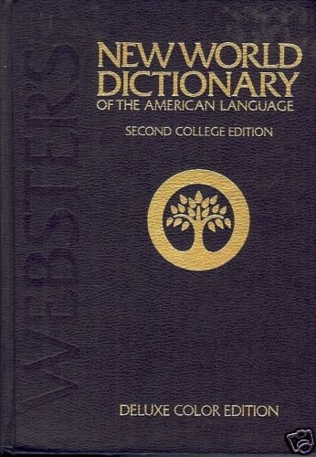 NEW WORLD DICTIONARY 2ND ED DELUXE COLOR EDITION