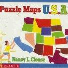 PUZZLE MAPS U.S.A By Nancy L. Clouse