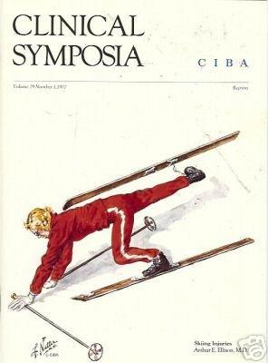 SKIING INJURIES By Arthur E. Ellison, M.D CIBA 1977