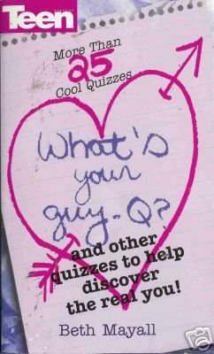 WHAT'S YOUR GUY- Q? By Beth Mayall