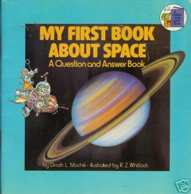 MY FIRST BOOK ABOUT SPACE a question and answer book