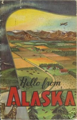 HELLO FROM ALASKA 1951 Story of Dairying