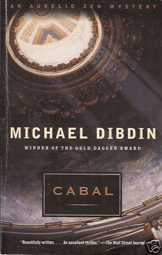 MICHAEL DOBIDIN CABAL AN AURELIO ZEN MYSTERY