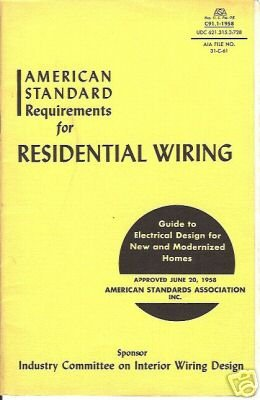 AMERICAN STANDARD RESIDENTIAL WIRING 1959 AIA SEATTLE