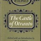 HORACE WALPOLE THE CASTLE OF OTRANTO