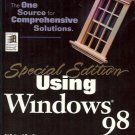 USING WINDOWS 98 SPECIAL EDITION CD-ROM INCLUDED