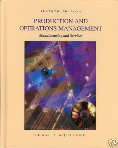 PRODUCTION AND OPERATIONS MANAGEMENT 7TH EDITION