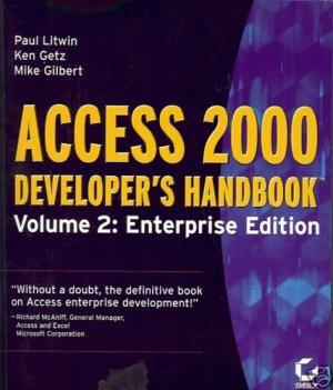ACCESS 2000 DEVELOPER'S HANDBOOK VOL 2 ENTERPRISE EDITI