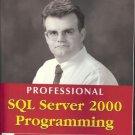 PROFESSIONAL SQL SERVER 2000 PROGRAMMING ROBERT VIEIRA