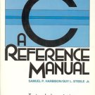 C A REFERENCE MANUAL S.P. HARBISON & STEELE