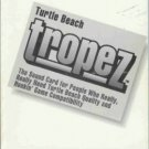 TURTLE BEACH TROPEZ user's guide the sound card for peo