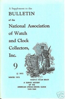History of American Spring-Driven Clock 1840 to 1860