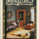 THE BOOK OF MINIATURES FURNITURE AND ACCESSORIES,