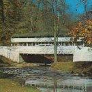 COVER BRIDGE valley forge park, PA Covered Bridge RPPC