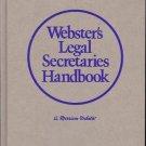 WEBSTER'S LEGAL SECRETARIES HANDBOOK A MERRIAN WEBSTER