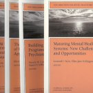 NEW DIRECTIONS FOR MENTAL HEALTH SERVICES LOT OF 4 BOOK