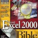 EXCEL 2000 BIBLE MICROSOFT JOHN WALKENBACH