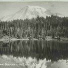 MOUNT RAINIER REFLECTION LAKE WA ELLIS RPPC