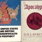 APOCALYPSE PROPHECY UNITED STATES & BRITISH LOT 2 BOOKS