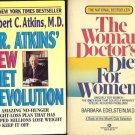 WOMAN  DOCTOR'S DIET & NEW DIET REVOLUTION LOT  2 BOOK