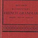 ELEMENTARY FRENCH GRAMMAR 1942