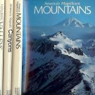 CANYONS MOUNTAINS VALLEYS LOT OF 3 BOOKS