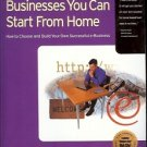 101 INTERNET BUSINESS YOU CAN  START FROM HOME
