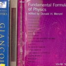 PHYSICS  FUNDAMENTAL FORMULAS OF PHYSICS  LOT OF 3 BOOKS