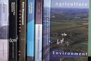 AGRICULTURE & THE ENVIRONMENT LOT OF 6 BOOKS