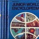 HARVER JUNIOR WORLD ENCYCLOPEDIA LOT OF 5 BOOKS