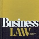 BUSINESS LAW ANDERSON & kUMPF