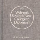 WEBSTER'S SEVENTH NEW COLLEGIATE DICTIONARY 1976