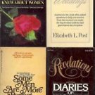 DIARIES OF WOMEN WIVIES LOT OF 4 BOOKS
