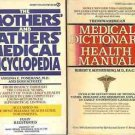 MEDICAL DICTIONARY & ENCYCLOPEDIA LOT OF 2 BOOKS
