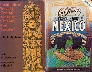 INCIDENTS OF TRAVEL IN CENTRAL AMERICA LOT OF 2 BOOKS